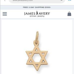 James Avery Jewelry - 14k James Avery Star of David charm